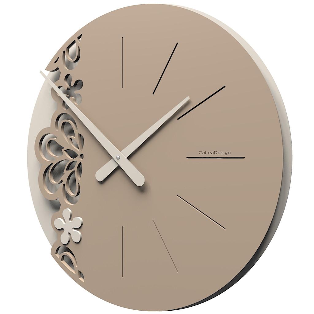 Callea design orologio da parete grande in legno merletto for Orologi a parete da cucina