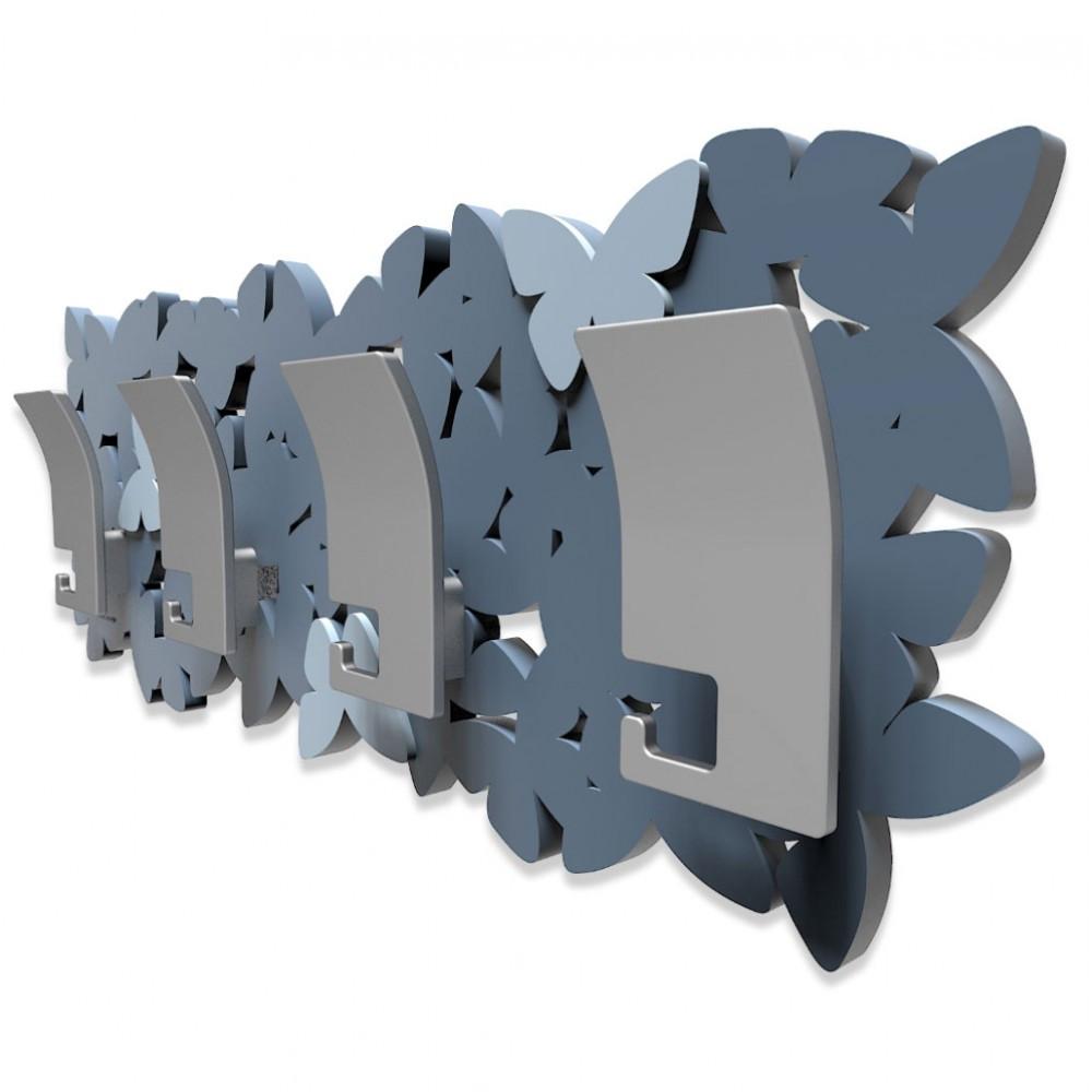 Callea Design Linea Farfalla Appendiabiti da parete in legno varie ...