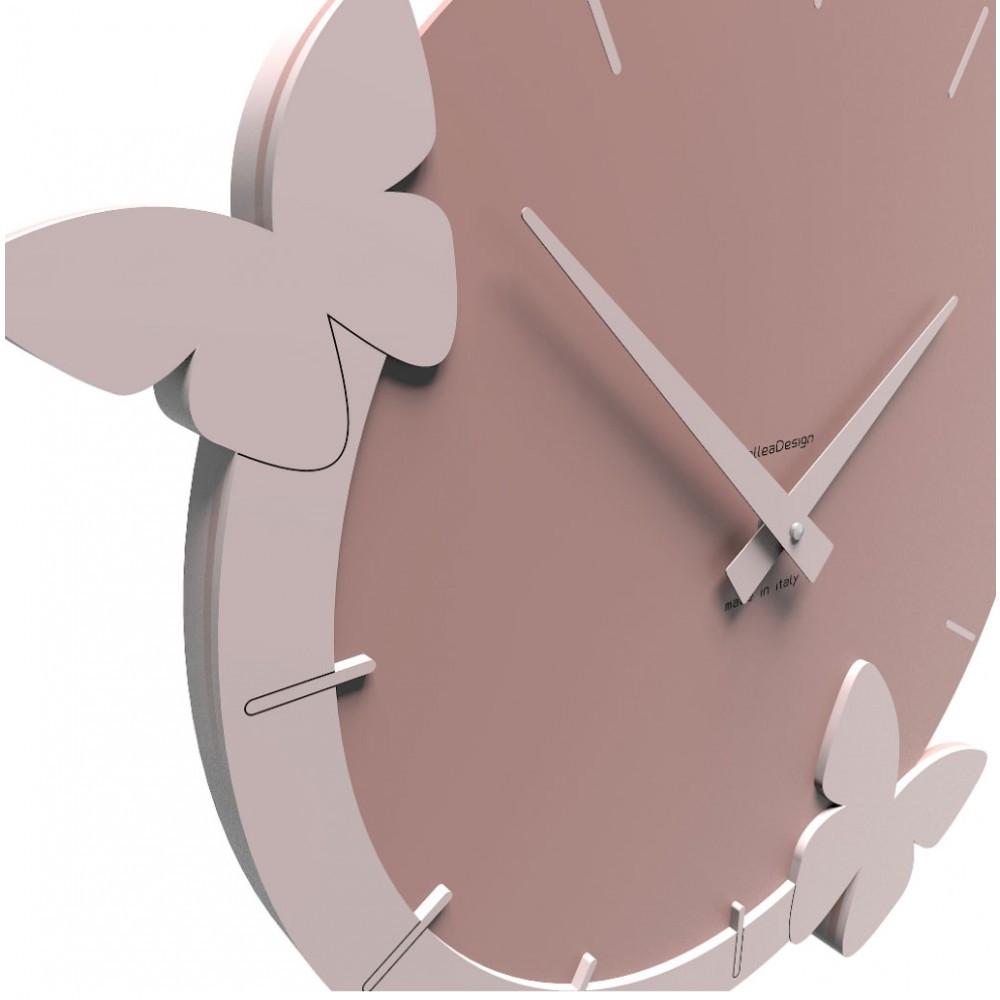 Callea design linea il volo delle farfalle orologio da for Orologio da muro farfalle