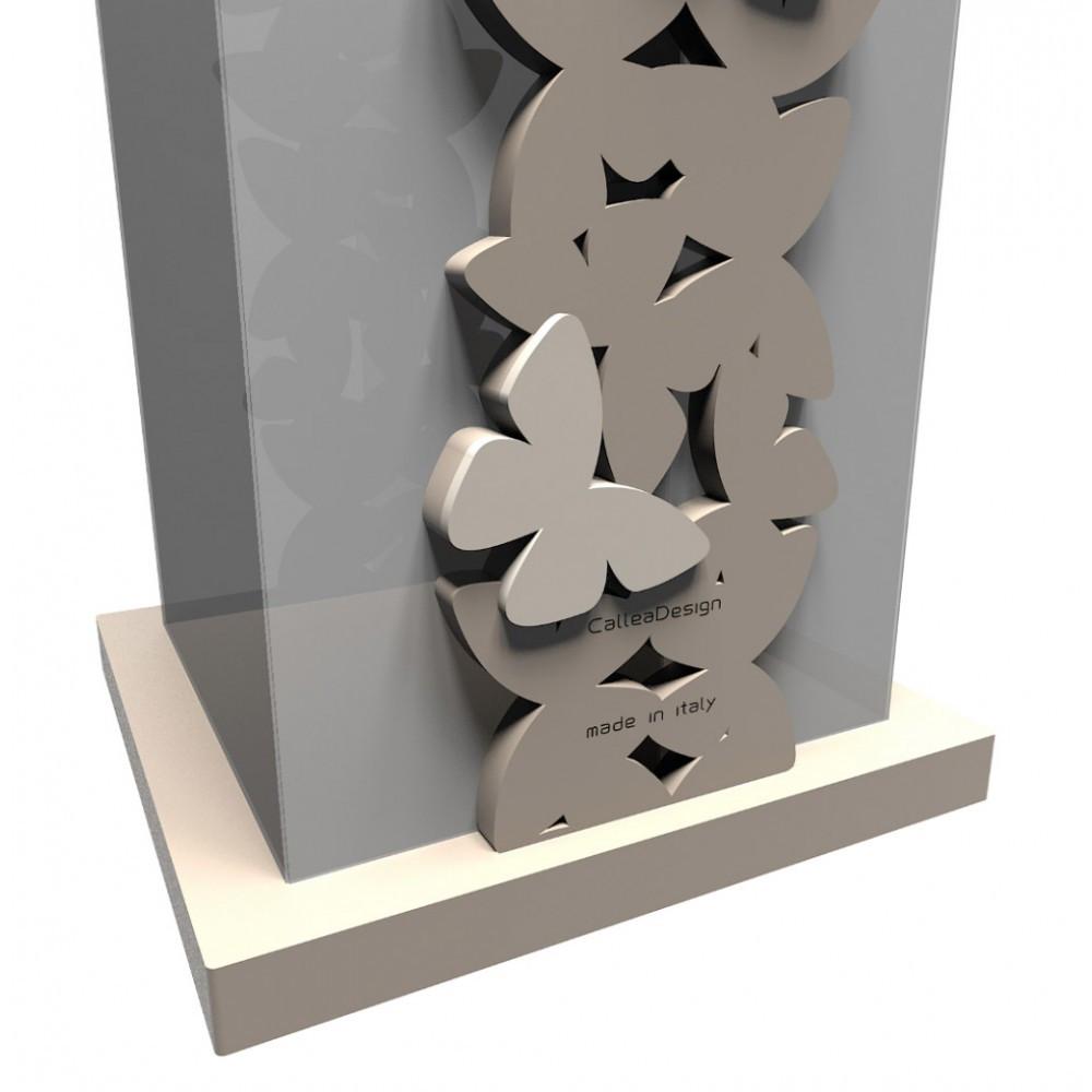 Callea design portaombrelli moderno in legno linea farfalla - Portaombrelli design moderno ...